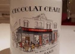 """Chocolat Chaud"" ceramic canister"