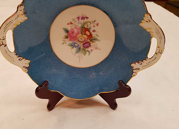 Coalport Plate with Handles