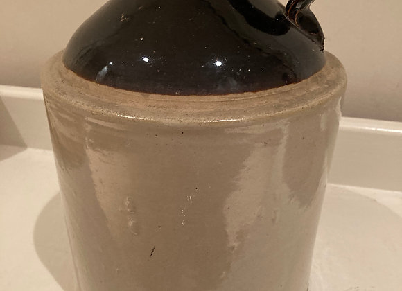 Small glazed stone jug