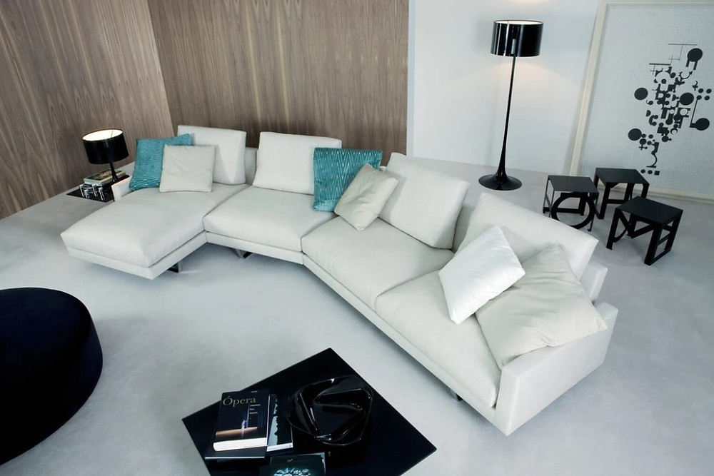 sofa, sectional sofa, couch, living room, urban style, urban collective