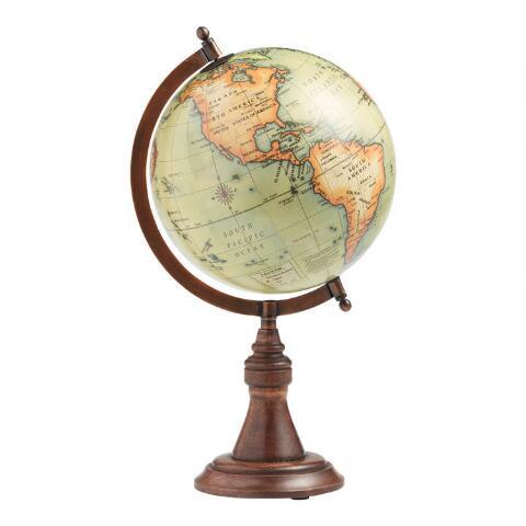 globe decoration, boho style