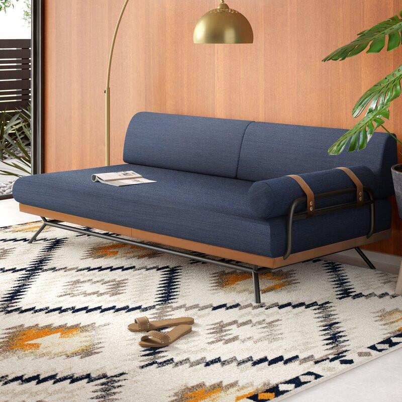 sofa bed, modern sofa, midcentury style, living room furniture