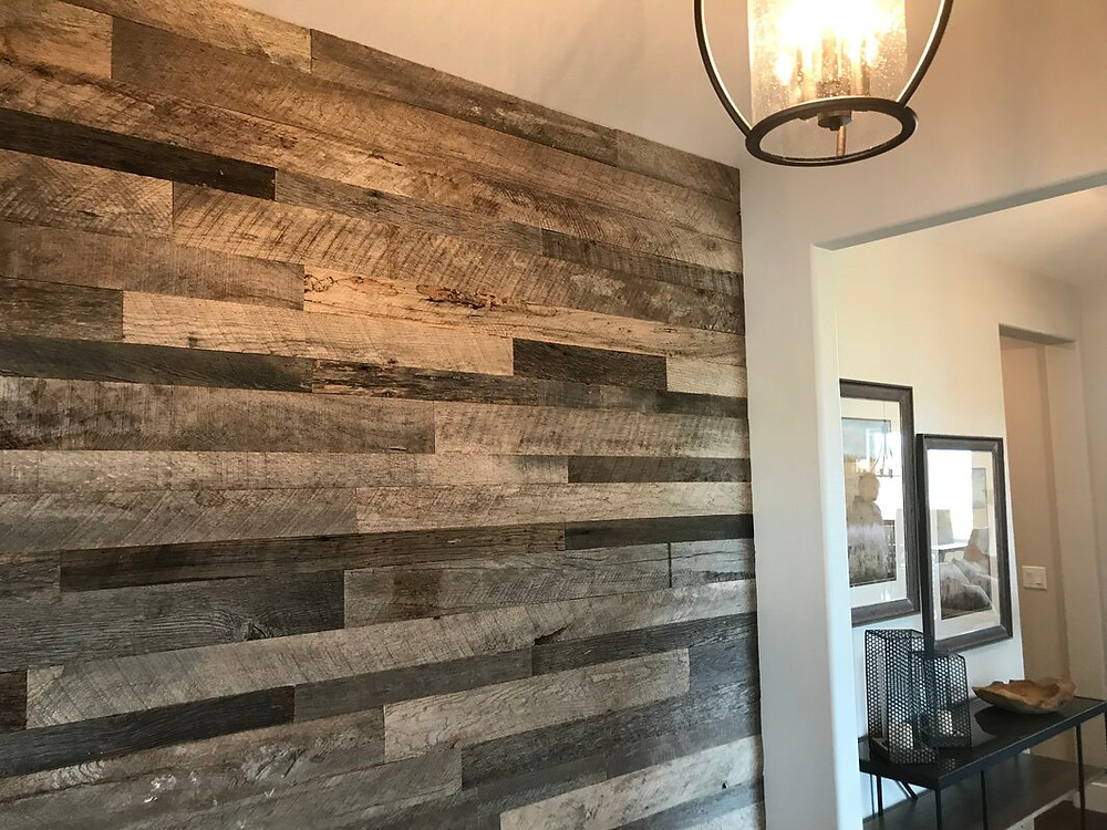 Solid wood paneling, wall decoration, interior decoration, interior design