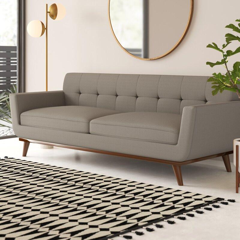 Modern design, sofa, grey couch, interior design