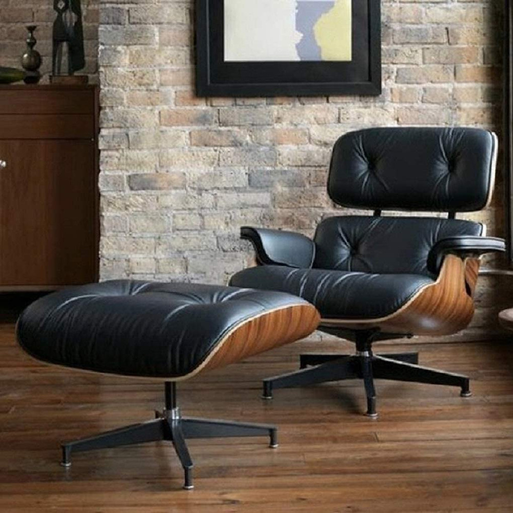 eames lounge chair, retro style, chair