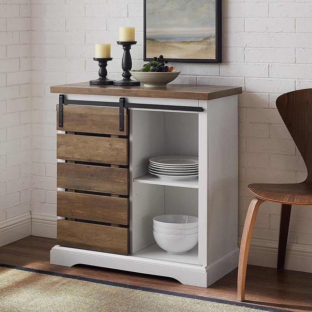 Rustic, storage cabinet, industrial design, interior design