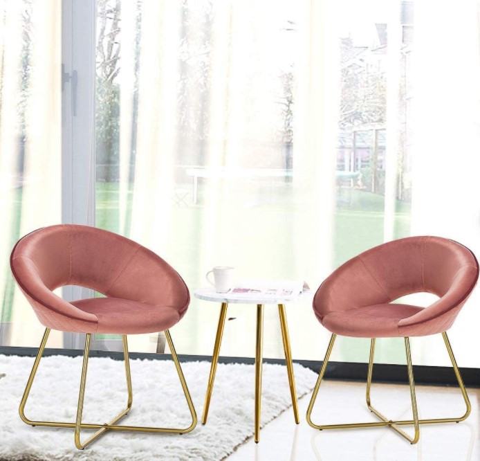 accent chairs, pastel chairs, living room chairs, conversational area