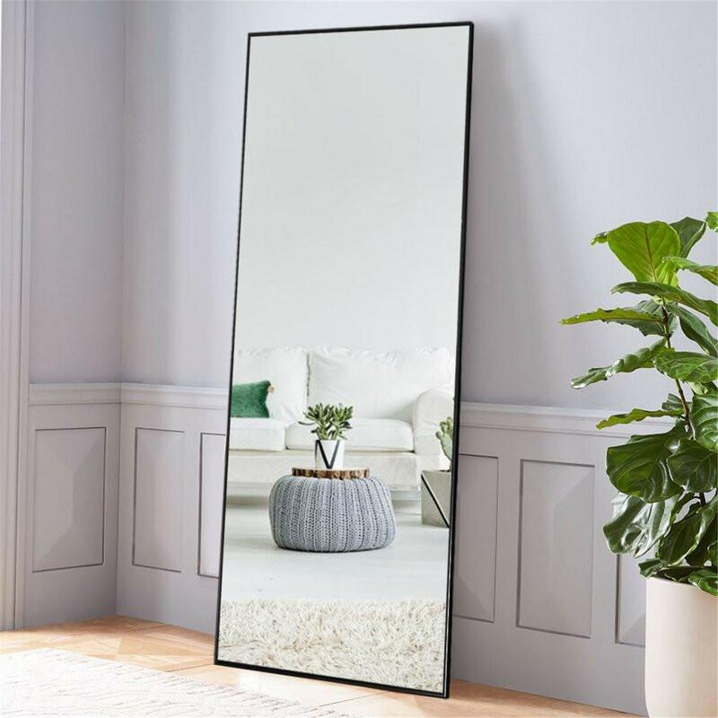 full length mirror, wall mirror, floor mirror, body length mirror, full body mirror
