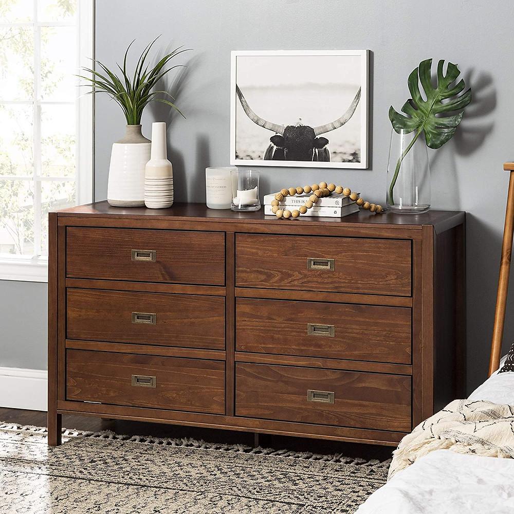 dresser, bedroom, tropical design, mid-century, pine wood, tropical theme