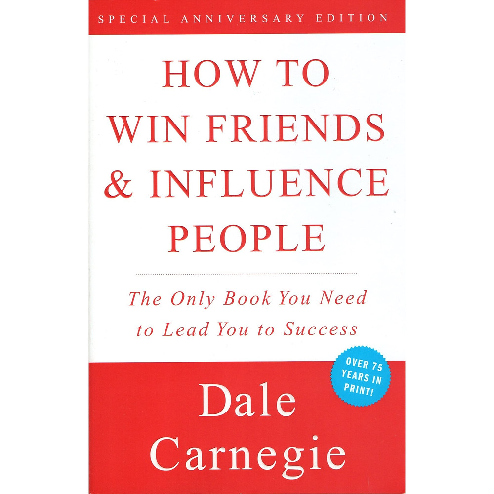 how to win friends & influence people, book, self improvement book