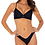 Thumbnail: Black Underwire Bikini Top (Also Available in Red)