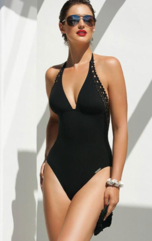 Ajourage Couture One Piece Swimsuit