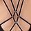 Thumbnail: Black Seduction Diamond One Piece