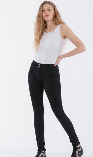 Regular Rise Skinny Fit Trousers