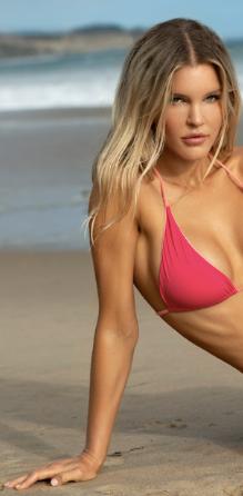 Reversible Hot Pink Bikini Top