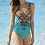 Thumbnail: Ethno Boheme V Neck Swimsuit