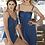 Thumbnail: Navy Dress with Jewel