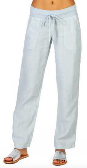 Straight Up Linen Pant