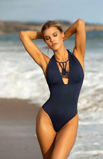 Reversible Tye-Dye Exotic One Piece (Also Available in Purple)