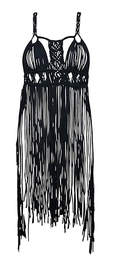 Fringe Cover Up (Also Available in White)