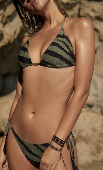Tiger Lily Bikini Top