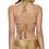 Thumbnail: Gold Ruched Teeny Bikini Bottoms