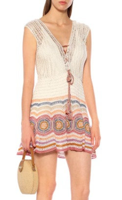 Crochet Janice Mini Dress