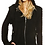 Thumbnail: Zip Up Hoodie with Faux Fur