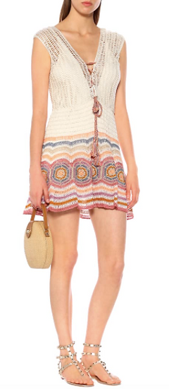 Crochet Janice Mini Dress