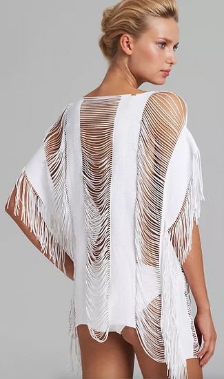 White Cut-Out Cover Up (Also Available in Black)