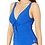 Thumbnail: Classique Deep V Ruched Front One-Piece (Also Available in Red)