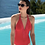 Thumbnail: Ajourage Couture One Piece Swimsuit - More Lace Detail