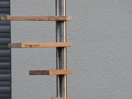 Wendeltreppe für den Stubentieger