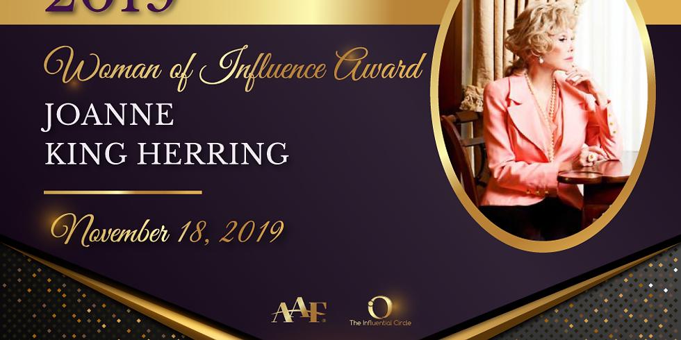 2019 Woman of Influence Award Luncheon