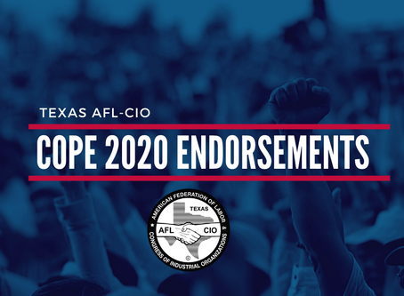 AFL-CIO 2020 Endorsements