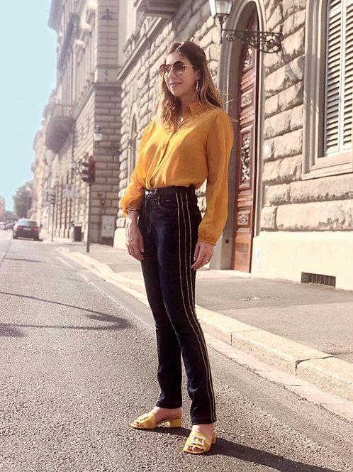 Calça skinny Gloucester Carol Bassi jeans