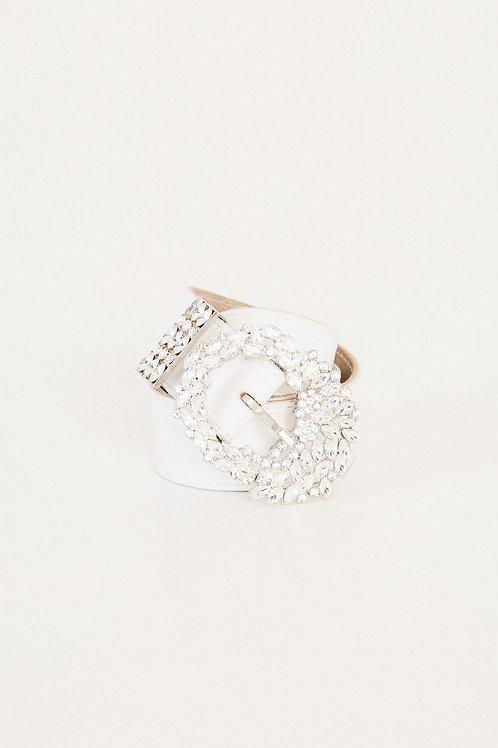 Cinto Luana branco Fabulous Agilita