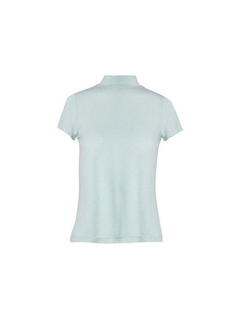 Blusa meia manga Vic verde agua Charth