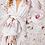 Thumbnail: Vestido curto white flower Fabulous Agilita