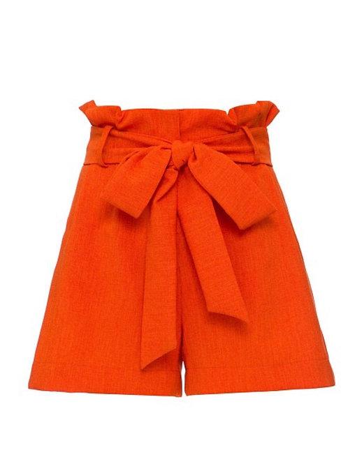 Short clochard laranja PatBo