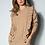 Thumbnail: Conjunto blusa e calça tricot nude Skazi