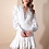 Thumbnail: Vestido curto tule rendado Skazi Juju Norremose
