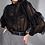 Thumbnail: Blusa detalhe babados e renda preta Skazi Sclub