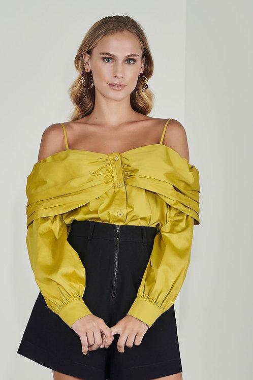 Camisa tricoline citronela - Iorane