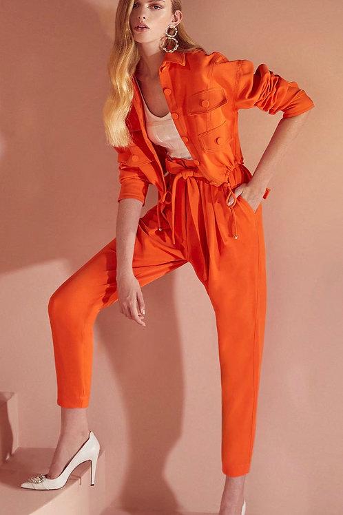 Calça clochard laranja Skazi Sclub