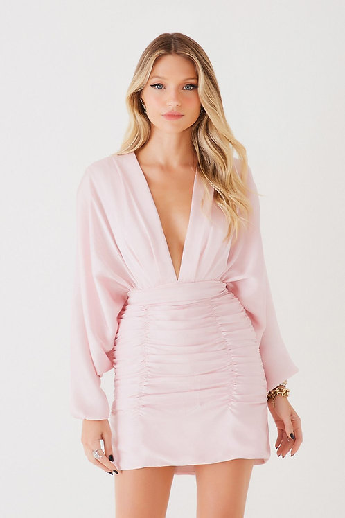 Vestido curto Bianca baby pink Fabulous Agilita