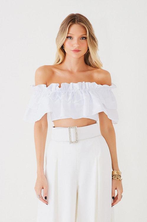 Top Tereza branco Fabulous Agilita