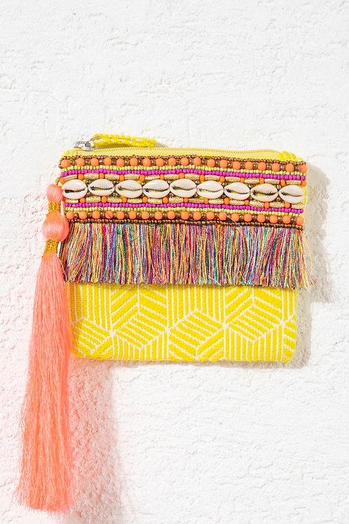 Bolsa Carmel amarela Nammos