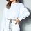 Thumbnail: Conjunto blusa e calça moletom branco Skazi