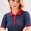 Thumbnail: Blusa meia manga tricot navy Skazi Sclub